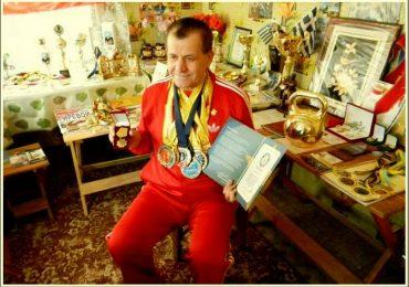 Запорожский гиревик в 32-й раз стал чемпионом мира!
