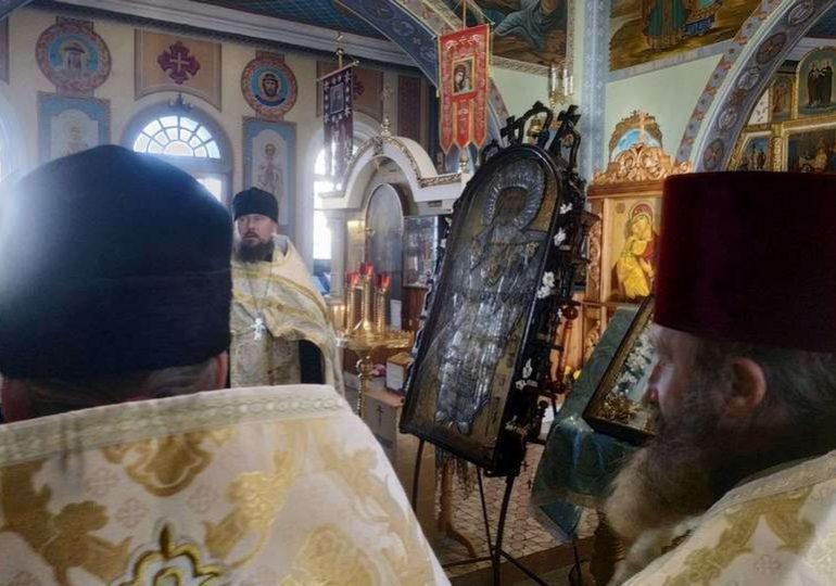 В Запорожскую область прибыла чудотворная икона Николая Чудотворца «Чернобыльская»
