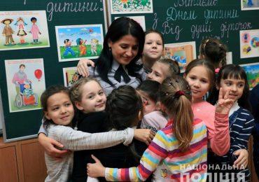 У Всесвітній день дитини запорізькі поліцейські розповіли дітям про їхні права