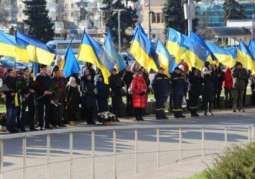 В Запорожье почтили память героев Революции Достоинства