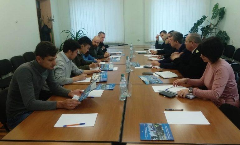 В Бердянске принимали делегацию из китайской компании Goldwind
