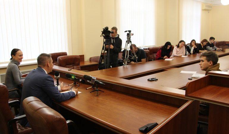 В Запорожье на пресс-конференции обсудили планы развития Хортицкого района