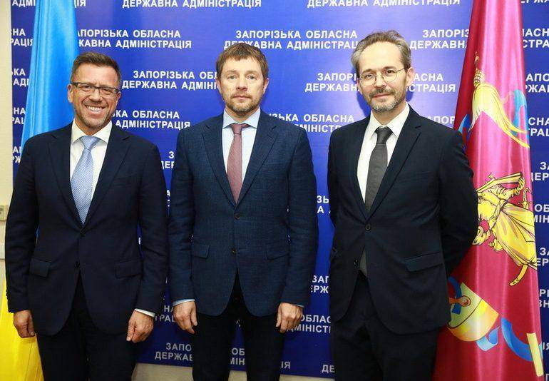 Голова облдержадміністрації  зустрівся з Надзвичайним та Повноважним Послом Австрійської Республіки