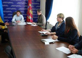 Голова облдержадміністрації Віталій Туринок провів перший прийом громадян