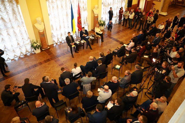 Прем'єр-міністр зустрівся з бізнес спільнотою Запоріжжя та області