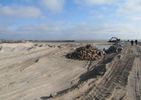 В Запорожской области завершаются работы на промоине, соединяющей Азовское море с Молочным лиманом