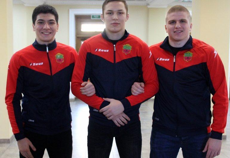 Запорожские борцы завоевали медали Кубка Украины по греко-римской борьбе