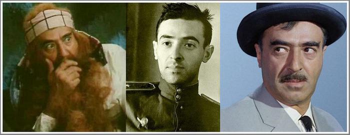 Как на Запорожье актеру Владимиру Этушу помогали бить фашистов…  Карабас Барабас и товарищ Саахов