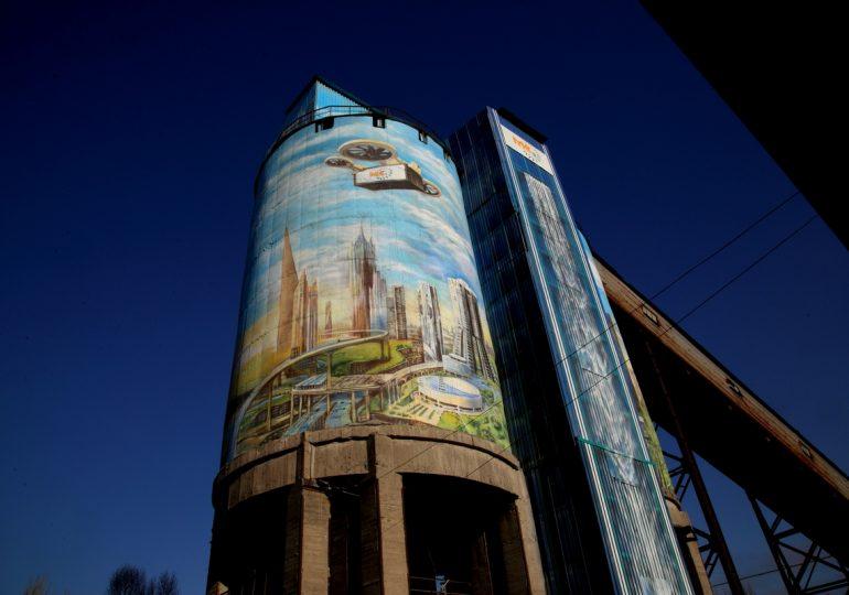 Есть рекорд! В Запорожье нарисовали самый большой мурал Украины (фото, видео)