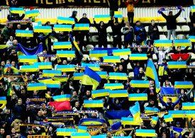 Футбольные фанаты в Запорожье на матче Украина - Эстония спели знаменитый хит (видео)