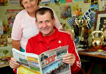 Запорожский чемпион мира по гиревому спорту Тимофей Косенко (фото)