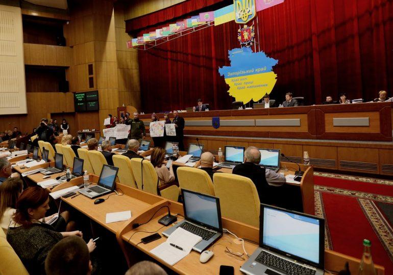 Фоторепортаж: 34-я сессия Запорожского областного совета