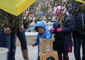 Сегодня международный день волонтера. Поющие волонтеры с села Степное Запорожского района (видео)
