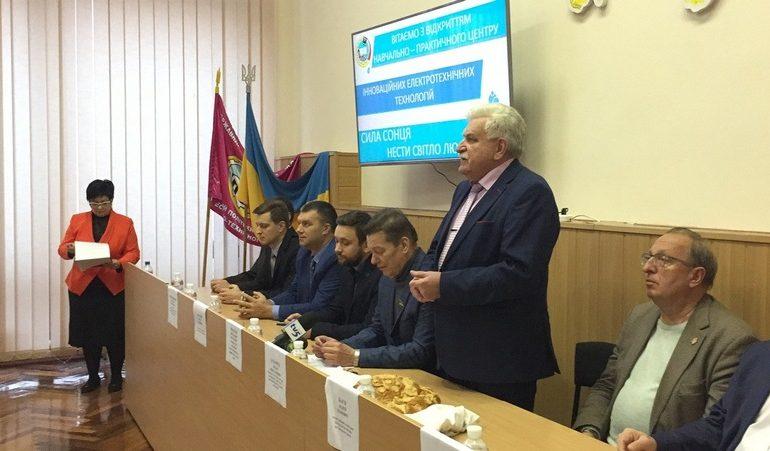 На базі Запорізького центру професійно-технічної освіти з'явився полігон електротехнічних технологій