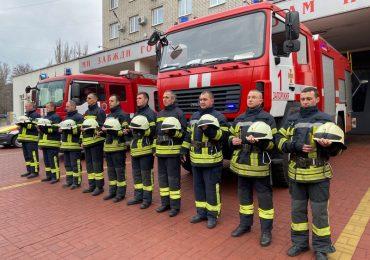 Спасатели Запорожской области почтили память жертв трагедии в Одессе