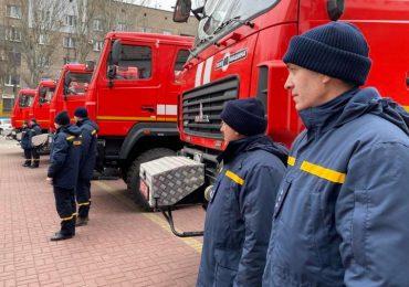 Спасатели Запорожского гарнизона получили 5 новых пожарно-спасательных автомобилей