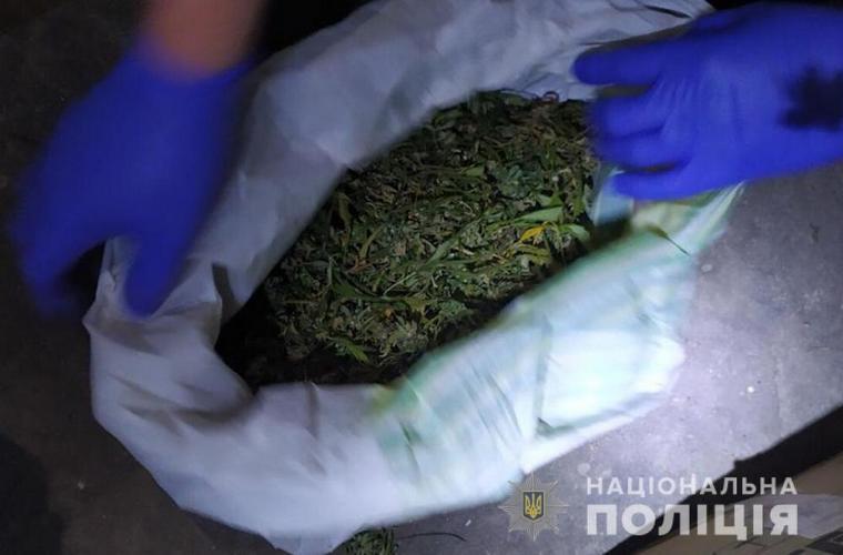 У Запорізькій області поліцейські вилучили близько 4 кілограмів марихуани