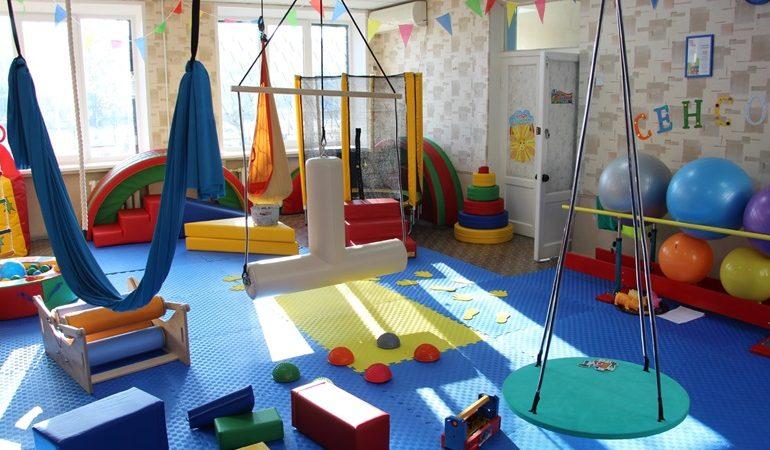 В Запорожье в отделении реабилитации детей с инвалидностью появилась сенсорная комната