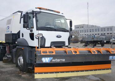 Дороги Энергодара зимой будет обслуживать новый спецавтомобиль