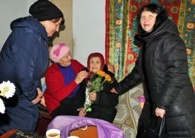 Жительница Запорожья Анна Виниченко отметила столетний юбилей