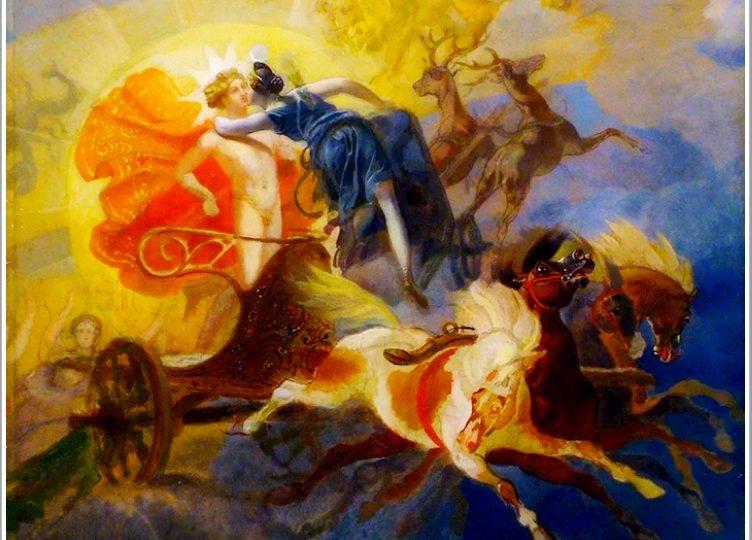 Как жители Бердянска стали очевидцами прощания Дианы с Аполлоном