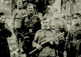 Запорожец на ступенях поверженного Рейхстага