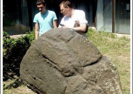 Знаменитый «Черный камень» острова Хортица (видео)