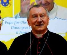 Кардинал Пьетро Паролин в Запорожье