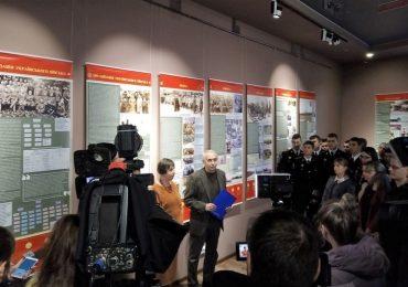 В Запорожье открыли выставку «Українське військо: 1917-1921».