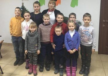 В Запорожье в  центре соцслужб поздравили детей с новогодними праздниками