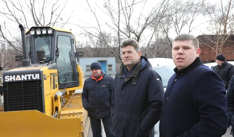 Запорожский «Водоканал» получил современную технику