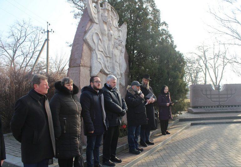 В Запорожье почтили память жертв Холокоста