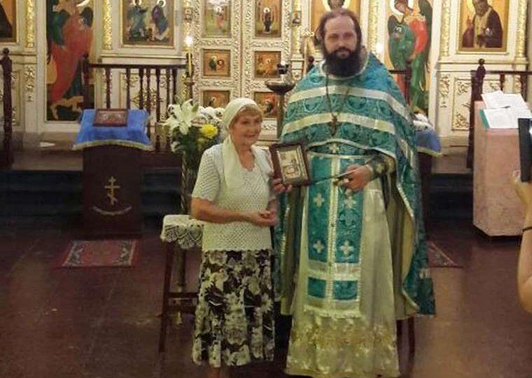 Жительница Энергодара отвезла в Аргентину икону святого праведного Петра Калнышевского