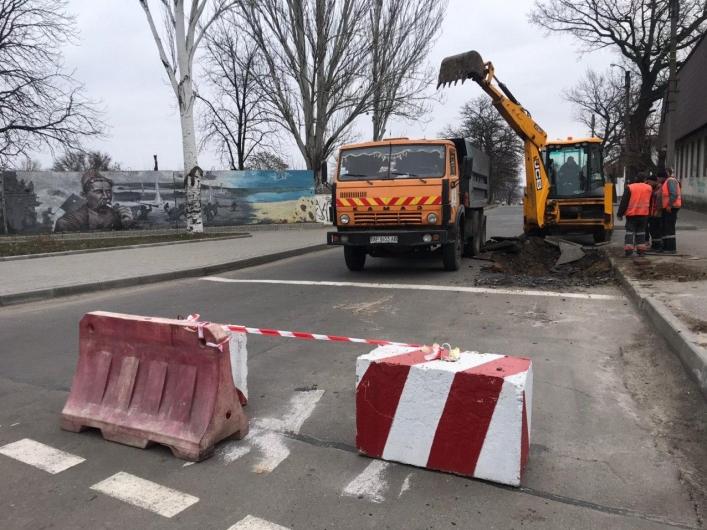В Мелитополе капитально ремонтируют самую длинную улицу города