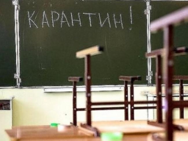 Карантин в школах Бердянска продлен по 12 февраля