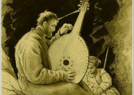Портреты украинских кобзарей художника из Бердянска Афанасия Сластёна