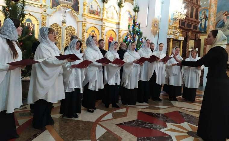 В Запорожья прошел концерт колядок