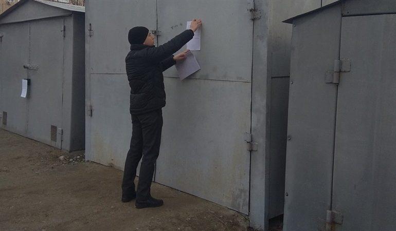 В Запорожье ищут самовольно установленные гаражи