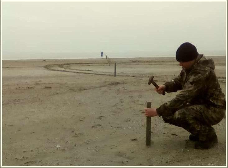 В Запорожской области в Молочный лиман стремительно прибывает вода из Азовского моря