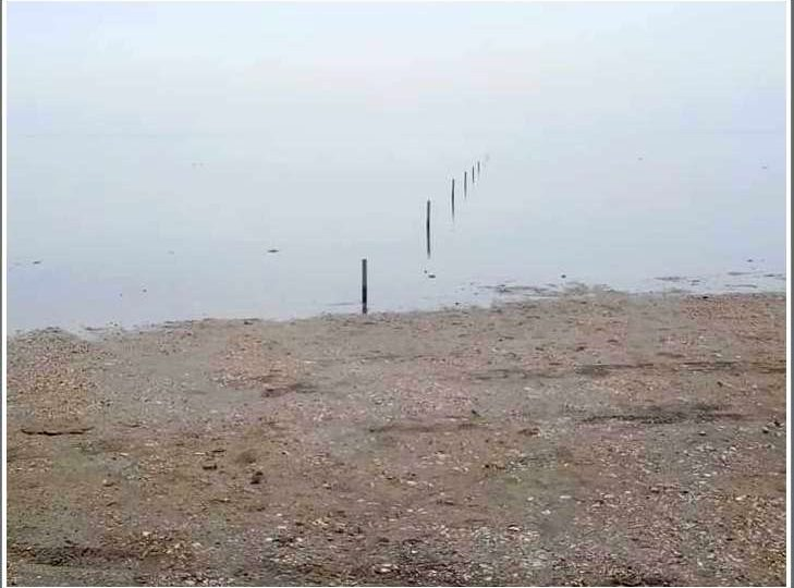 В Запорожской области уровень воды в Молочном лимане поднялся на 60 см