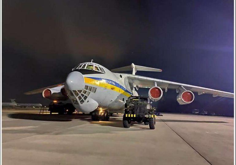 Самолет мелитопольской бригады транспортной авиации вылетел в Иран (фото)