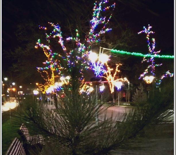 В Запорожье - вечер накануне Рождества (фото)