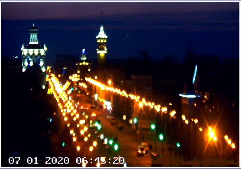 В Запорожье - утро Рождества (фото)