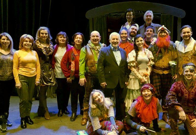 Запорожский театр юного зрителя успешно гастролировал в Харькове