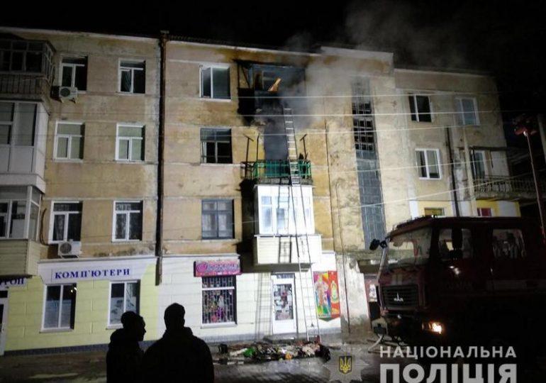 В Запорожской области на пожаре погибла мать с двумя детьми