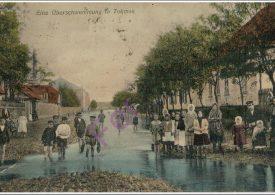 Наводнение в городе Токмаке в 1909 году (фото)