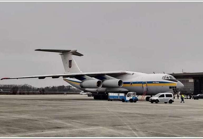 В Мелитополь  отправился самолет Ил-76, вернувшийся из Ирана