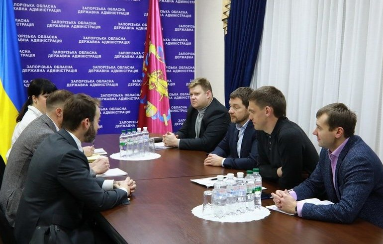 В Мелитопольском и Приазовском районах началось строительство ветроэлектростанции