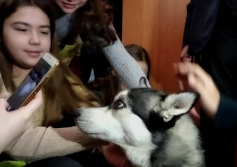 В Запорожье школьников учат бережному отношению к животным