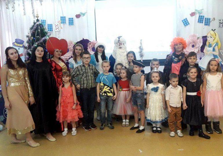 В Энергодаре устроили праздник для детей из многодетных семей